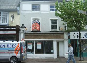 Thumbnail Retail premises to let in 15 Nott Square, Carmarthen