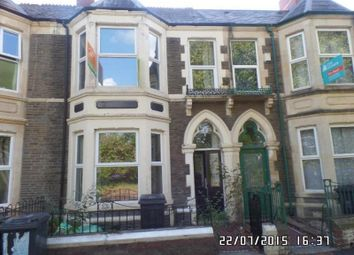 Thumbnail 5 bedroom terraced house to rent in Clun Terrace, Cathays Cardiff