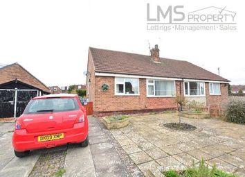 Thumbnail 2 bed bungalow to rent in Lynbrook Road, Crewe