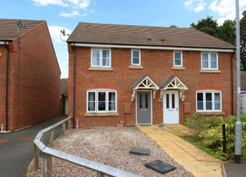 Thumbnail 3 bed semi-detached house for sale in Birchwood Close, Wellington, Telford