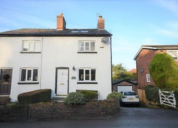 Thumbnail 2 bed semi-detached house for sale in 156 Knutsford Road, Wilmslow