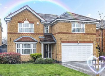Thumbnail 4 bed detached house for sale in Melrose Drive, Elstow, Bedford