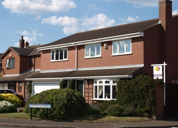 Thumbnail 5 bed detached house for sale in Telmah Close, Burton On Trent, Staffordshire