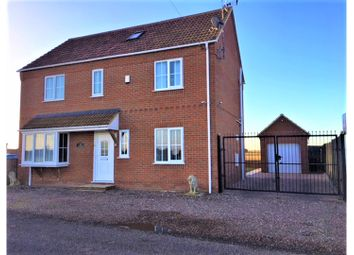 Thumbnail 5 bedroom detached house for sale in Mill Road, Wiggenhall St Germans, King's Lynn