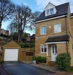 Thumbnail 3 bed town house for sale in Hanby Close, Fenay Bridge, Huddersfield