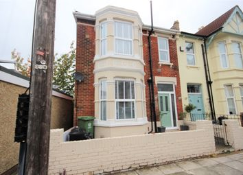 Thumbnail 4 bedroom end terrace house for sale in Wadham Road, Portsmouth