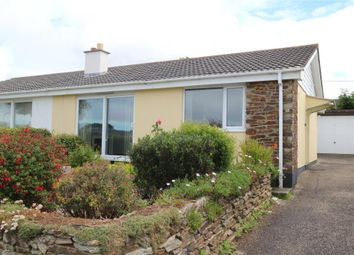 Thumbnail 2 bedroom semi-detached bungalow for sale in Roseland Park, Camborne, Cornwall