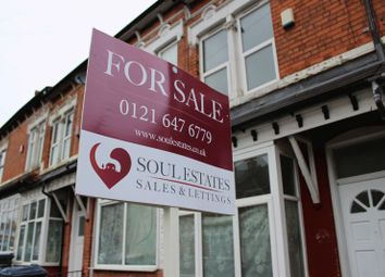 Thumbnail 3 bed terraced house for sale in Westbourne Road, Birmingham
