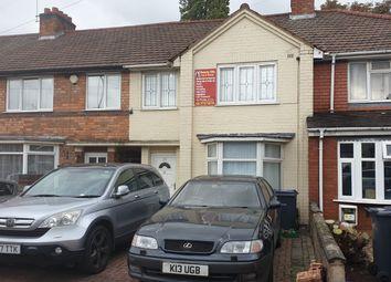 Thumbnail Terraced house for sale in Foxton Road, Birmingham