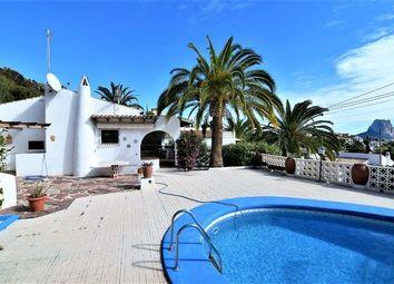 Thumbnail 2 bed villa for sale in Spain, Valencia, Alicante, Calpe