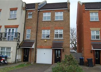 Thumbnail 3 bed town house for sale in Rose Bates Drive, Kingsbury
