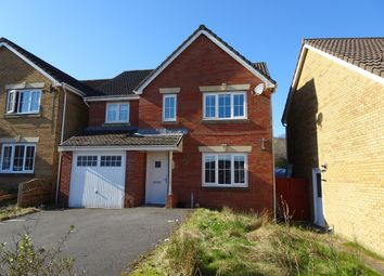 Thumbnail 4 bed detached house for sale in Mayors Close, Heolgerrig, Merthyr Tydfil
