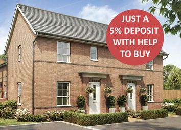 """Thumbnail 2 bed end terrace house for sale in """"Acomb"""" at Tournament Court, Edgehill Drive, Chase Meadow Square, Warwick"""