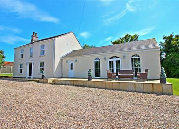 Thumbnail 4 bed equestrian property for sale in West End, West Caister, Great Yarmouth
