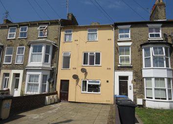 Thumbnail 2 bedroom flat to rent in Denmark Road, Lowestoft