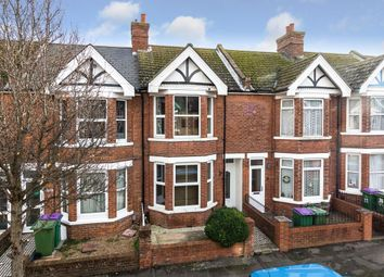 Thumbnail 3 bed terraced house for sale in St. Winifred Road, Folkestone