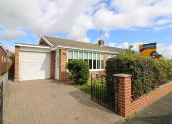 Thumbnail 2 bed semi-detached bungalow for sale in Cresswell Drive, Red House Farm, Newcastle Upon Tyne