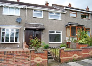 Thumbnail 3 bed terraced house for sale in Forthriver Way, Belfast