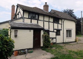 Thumbnail 3 bed detached house for sale in Tudor Cottage, Aylescroft, Bosbury, Ledbury, Herefordshire