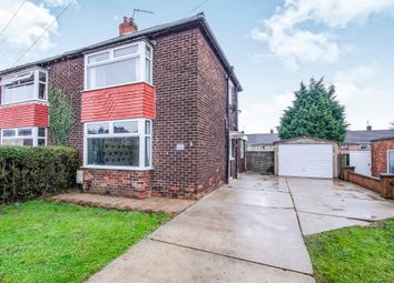 Thumbnail 2 bed semi-detached house for sale in Warley Road, Scunthorpe