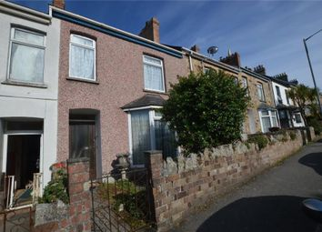 Thumbnail 3 bed terraced house for sale in St. Johns Road, Newquay, Cornwall