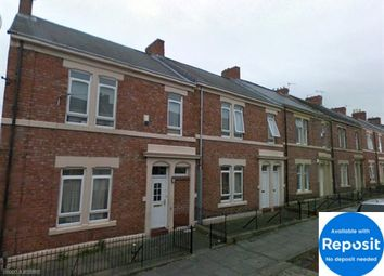 Thumbnail 3 bed flat to rent in Northcote Street, Newcastle Upon Tyne
