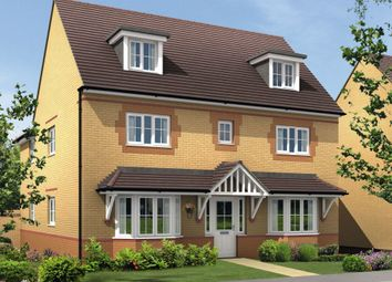 "Thumbnail 5 bed detached house for sale in ""Stratford"" at Saxon Court, Bicton Heath, Shrewsbury"