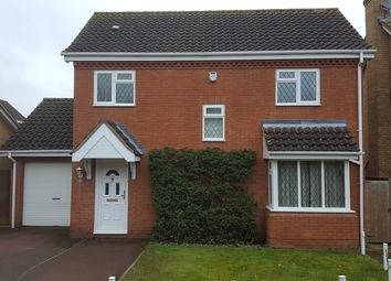 Thumbnail 3 bed detached house to rent in Quenby Way, Bromham, Bedford