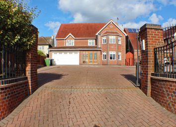 Thumbnail 7 bed detached house for sale in Uppingham Road, Thurnby