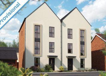 "Thumbnail 4 bedroom town house for sale in ""The Loughton"" at Barrosa Way, Whitehouse, Milton Keynes"