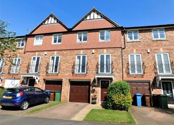 Thumbnail 4 bedroom town house for sale in Highfield Close, Davenport, Stockport