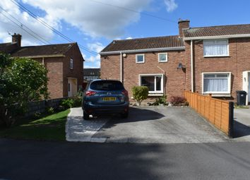 Thumbnail 2 bed end terrace house for sale in Shervage Court, Bridgwater