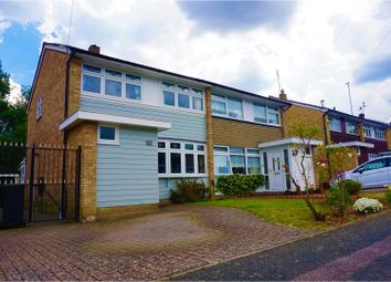 Thumbnail 3 bed semi-detached house for sale in Sunnymede, Chigwell