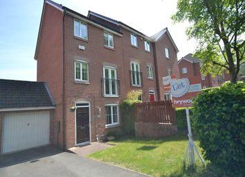 Thumbnail 3 bedroom terraced house to rent in Valley View, Clayton, Newcastle-Under-Lyme