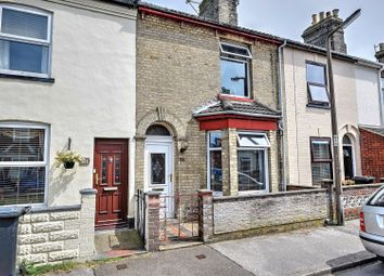 Thumbnail 3 bedroom terraced house for sale in Queens Road, Lowestoft