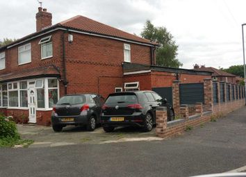 Thumbnail 3 bed semi-detached house for sale in Bryan Road, Chorlton Cum Hardy, Manchester
