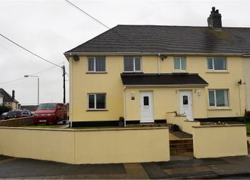 Thumbnail 3 bed end terrace house for sale in The Ridgeway, Saundersfoot