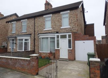 Thumbnail 3 bed semi-detached house to rent in Stanhope Road, Stockton-On-Tees