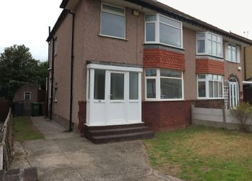 Thumbnail 3 bed semi-detached house to rent in Douglas Drive, Moreton, Wirral