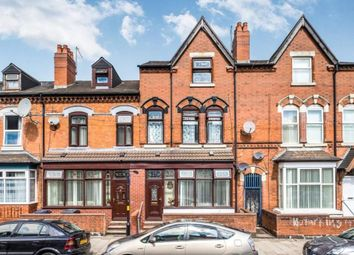 Thumbnail 5 bed terraced house to rent in Wilton Road, Sparkhill, Birmingham