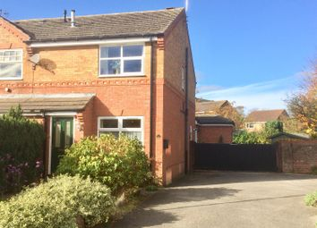 Thumbnail 2 bed semi-detached house for sale in Showfield Drive, Easingwold, York