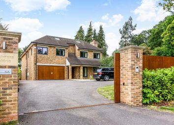 Thumbnail 6 bed detached house for sale in Knowle Grove, Virginia Water