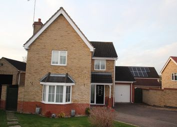 Thumbnail 4 bedroom detached house for sale in Monarch Way, Pinewood, Ipswich