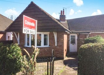 Thumbnail 1 bed semi-detached bungalow for sale in Brooksby Drive, Oadby, Leicester