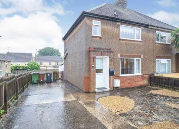 Thumbnail 2 bed semi-detached house for sale in Deeneside, Weldon, Corby