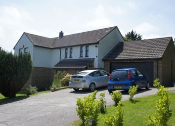 Thumbnail 5 bed detached house to rent in Knights Hill, Truro