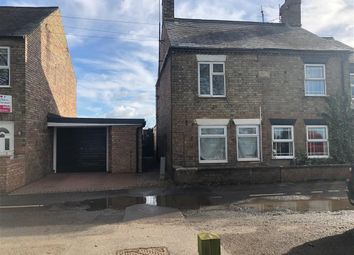 Thumbnail 1 bedroom semi-detached house to rent in The Bank, Parson Drove, Wisbech