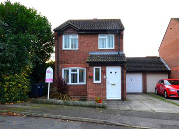 Thumbnail 3 bed link-detached house for sale in Knaresborough Court, Eynesbury, St Neots, Cambridgeshire