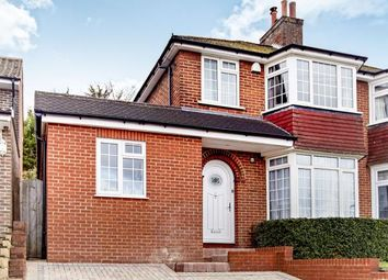 Thumbnail 3 bed semi-detached house for sale in Ingleboro Drive, Purley, Surrey