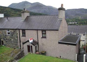 Thumbnail 3 bed semi-detached house for sale in Morgan Street, Gerlan, Bethesda, Gwynedd